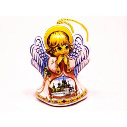 Колокольчик фарфоровый ХВ Ангел большой (уп.10шт.)