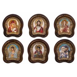 Икона Дивеевская из бисера, в ассорт. (15*18см)